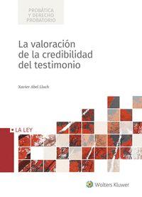 VALORACIÓN DE LA CREDIBILIDAD DEL TESTIMONIO