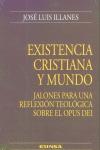 EXISTENCIA CRISTIANA Y MUNDO