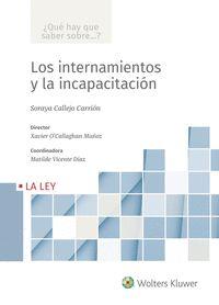 LOS INTERNAMIENTOS Y LA INCAPACITACIÓN