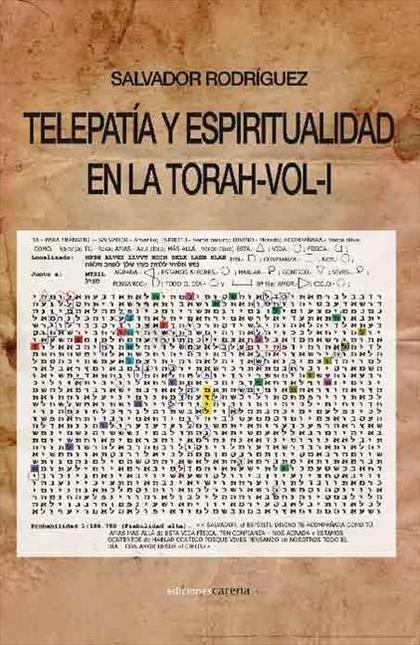 TELEPATÍA Y ESPIRITUALIDAD EN LA TORAH 1