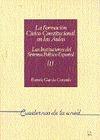 REF 35026CU0 FORMACION CIVICO-POLITICA EN LAS AULAS I