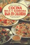 COCINA RICA Y SABROSA BAJA EN CALORIAS
