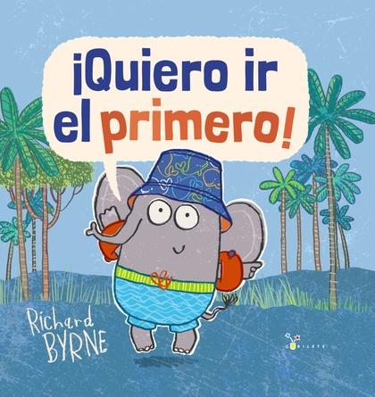 ¡QUIERO IR EL PRIMERO!.