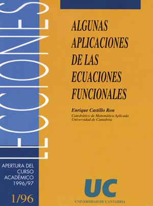 ALGUNAS PUBLICACIONES DE LAS ECUACIONES FUNCIONALES