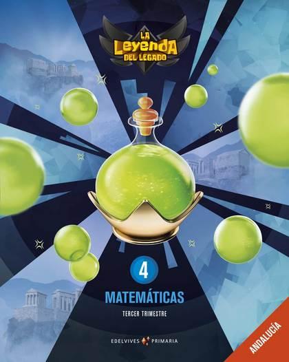 MATEMÁTICAS 4ºPRIMARIA. LA LEYENDA DEL LEGADO 2019.
