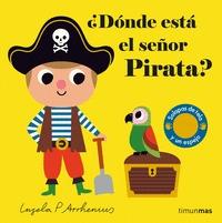 ¿DÓNDE ESTÁ EL SEÑOR PIRATA?.