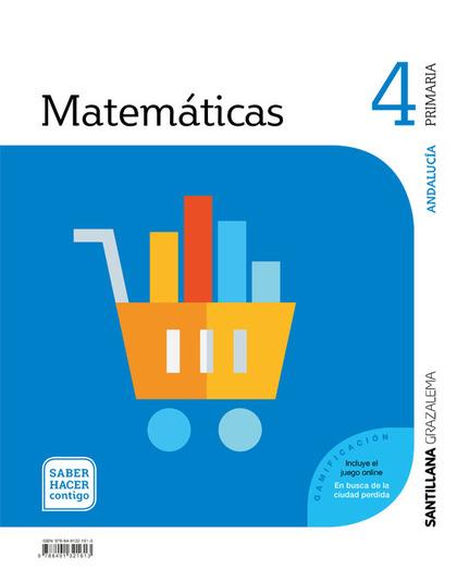 MATEMATICAS 4 PRIMARIA SABER HACER CONTIGO.