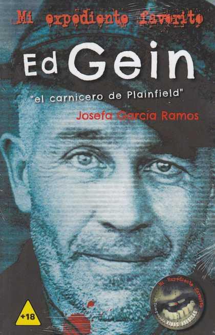 ED GEIN. ´EL CARNICERO DE PLAINFIELD´