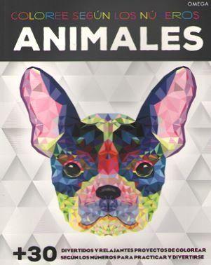 ANIMALES. COLOREE SEGUN LOS NUMEROS                                             +30 DIVERTIDOS