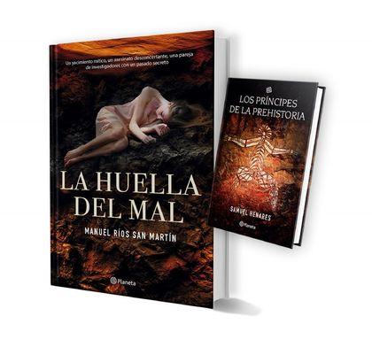 PACK TC LA HUELLA DEL MAL + LOS PRÍNCIPES DE LA PREHISTORIA.