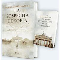 PACK TC LA SOSPECHA DE SOFÍA + EL ESPIONAJE EN LAS DÉCADAS DE LA GUERRA FRÍA.