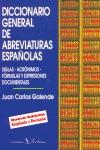 DICCIONARIO GENERAL DE ABREVIATURAS ESPAÑOLAS