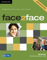 FACE2FACE ADVANCED FOR SPANISH SPEAKERS (2ND ED). WORKBOOK WITHOUT ANSWERS