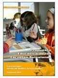 PROPUESTA EDUCATIVA DE LAS ESCUELAS SALESIANAS : LÍNEAS BÁSICAS DE CARÁCTER PROPIO