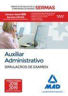 AUXILIAR ADMINISTRATIVO SERMAS SIMULACROS DE EXAMEN.