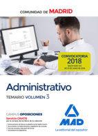 ADMINISTRATIVO COMUNIDAD DE MADRID TEMARIO 3.