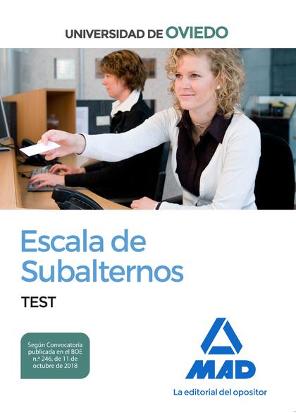 TEST ESCALA DE SUBALTERNOS DE LA UNIVERSIDAD DE OVIEDO