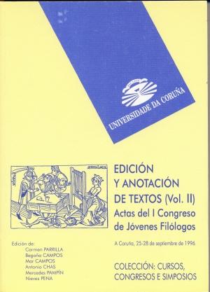 EDICION ANOTACION TEXTOS VOL. II
