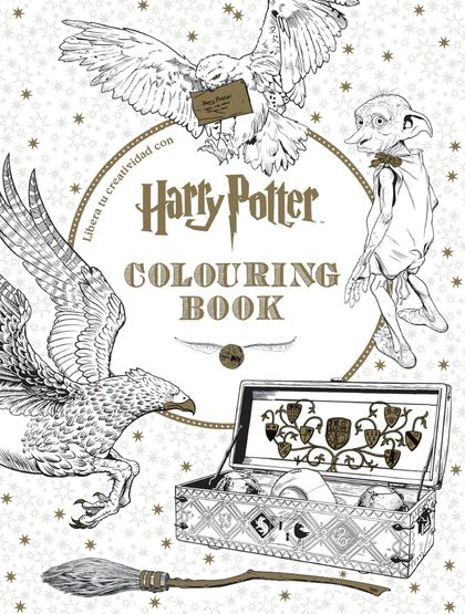 HARRY POTTER. COLOURING BOOK.