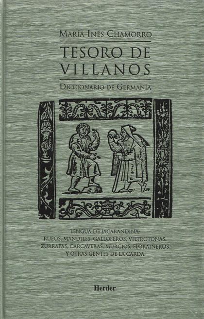 TESORO DE VILLANOS, DICCIONARIO DE GERMANÍA: LENGUA DE JACARANDINA: RU