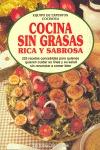 COCINA SIN GRASA RICA Y SABROSA