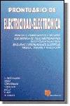 PRONTUARIO DE ELECTRICIDAD-ELECTRONICA