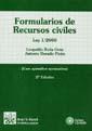FORMULARIOS DE RECURSOS CIVILES