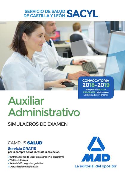 AUXILIAR ADMINISTRATIVO DEL SERVICIO DE SALUD DE CASTILLA Y LEÓN (SACYL). SIMULA