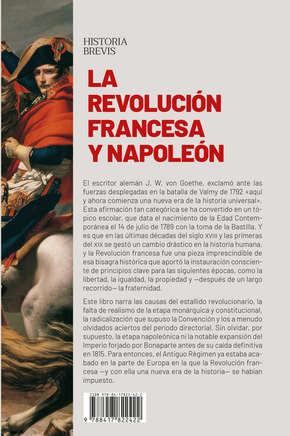 LA REVOLUCIÓN FRANCESA Y NAPOLEÓN. EL FIN DEL ANTIGUO RÉGIMEN Y EL INICIO DE LA EDAD CONTEMPORÁ