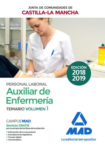 AUXILIAR DE ENFERMERÍA (PERSONAL LABORAL DE LA JUNTA DE COMUNIDADES DE CASTILLA-