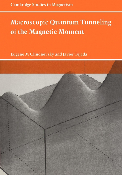 MACROSCOPIC QUANTUM TUNNELING OF THE MAGNETIC MOMENT