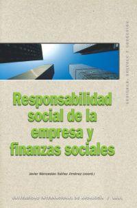 RESPONSABILIDAD SOCIAL DE LA EMPRESA Y FINANZAS SOCIALES