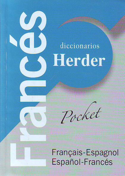 DICCIONARIO UNIVERSAL HERDER FRANCÉS