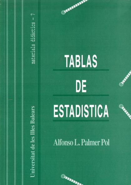 TABLAS DE ESTADÍSTICA