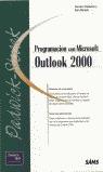 PROGRAMACIÓN CON MS OUTLLOK 2000
