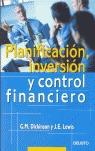 PLANIFICACIÓN, INVERSIÓN Y CONTROL FINANCIERO