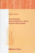 LOS ARTÍCULOS DE LA POLÉMICA Y OTROS TEXTOS SOBRE POESÍA