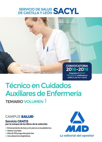 TÉCNICO EN CUIDADOS AUXILIARES DE ENFERMERÍA DEL SERVICIO DE SALUD DE CASTILLA Y