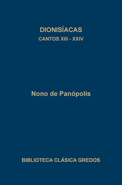 CANTOS XIII-XXIV