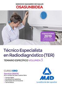 TECNICO ESPECIALISTA RADIODIAGNOSTICO OSASUNBIDEA 3