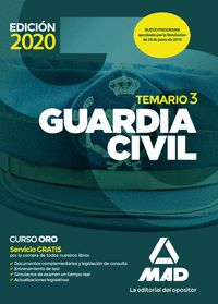 GUARDIA CIVIL TEMARIO VOLUMEN 3