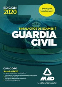 GUARDIA CIVIL SIMULACROS DE EXAMEN 1