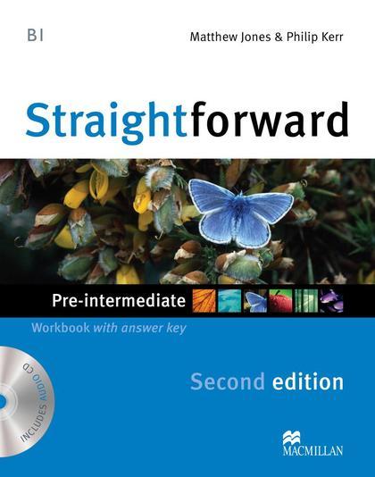 STRAIGHTFORW PRE-INT 2ND ED WB PK +KEY