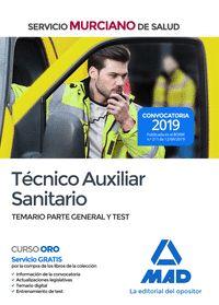 TECNICO AUXILIAR SANITARIO TEMARIO TEST SMS