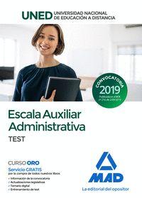 ESCALA AUXILIAR ADMINISTRATIVA DE LA UNIVERSIDAD NACIONAL DE EDUC
