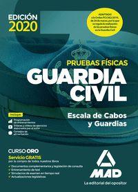 PRUEBAS FISICAS GUARDIA CIVIL. ESCALA DE CABOS Y GUARDIAS