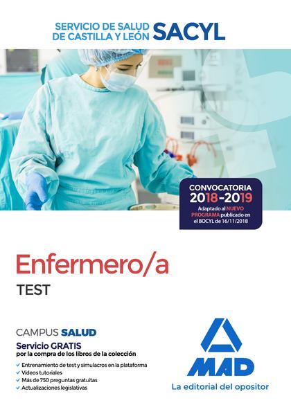 ENFERMERO/A DEL SERVICIO DE SALUD DE CASTILLA Y LEÓN (SACYL). TEST