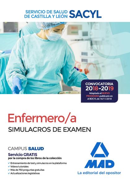 ENFERMERO/A DEL SERVICIO DE SALUD DE CASTILLA Y LEÓN (SACYL). SIMULACROS DE EXAM