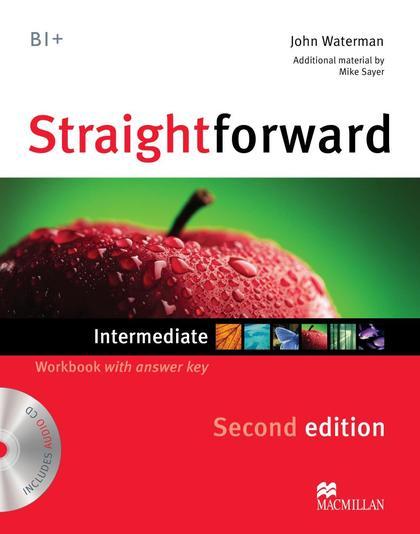 STRAIGHTFORWARD INT 2ND ED WB PK +KEY