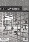 MATEMÀTIQUES, 1 BATXILLERAT (BALEARES, CATALUÑA). PROPOSTA DIDÀCTICA DEL PROFESSOR